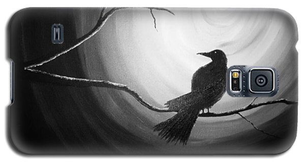 Midnight Raven Noir Galaxy S5 Case