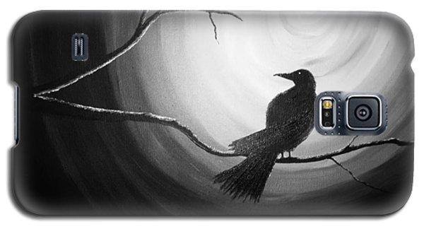 Midnight Raven Noir Galaxy S5 Case