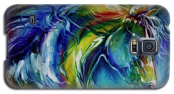 Midnight Run Equine Galaxy S5 Case