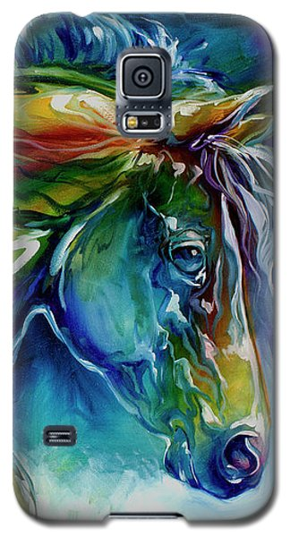 Midnight Run Equine Galaxy S5 Case