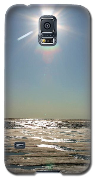 Midnight Sun Over The Arctic Galaxy S5 Case