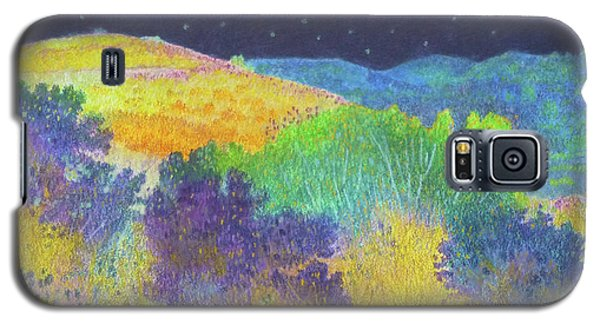 Midnight Trees Dream Galaxy S5 Case