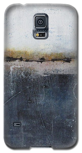 Galaxy S5 Case featuring the painting Midnight Whispers by Nicole Nadeau