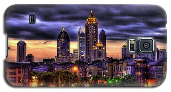 Midtown Atlanta Towers Over Atlantic Commons Art Galaxy S5 Case