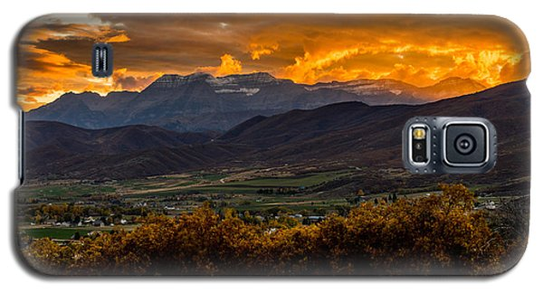 Midway Utah Sunset Galaxy S5 Case