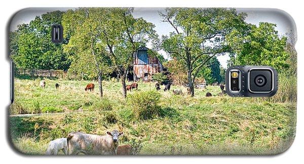 Midwest Cattle Ranch Galaxy S5 Case by Scott Hansen