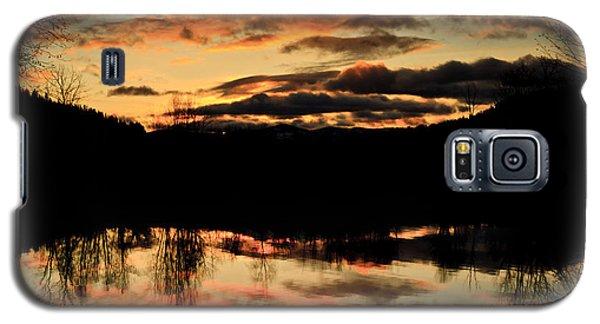 Midwinter Sunrise Galaxy S5 Case