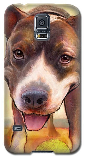 Bull Galaxy S5 Case - Live. Laugh. Love. by Sean ODaniels