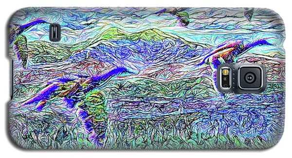 Migrate Beyond The Mountain Galaxy S5 Case by Joel Bruce Wallach