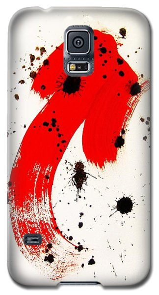 Galaxy S5 Case featuring the painting Mikado Rising by Roberto Prusso