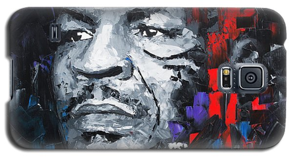 Boxing Muhammad Ali Galaxy S5 Case - Mike Tyson by Richard Day