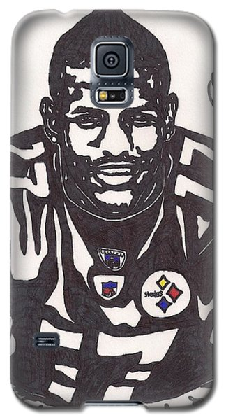 Galaxy S5 Case featuring the drawing Mike Wallace 1 by Jeremiah Colley