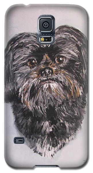 Galaxy S5 Case featuring the painting Mikey by Jack Skinner