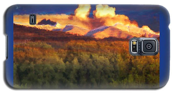 Milagro Cloud Theater Over Truchas Peaks Nm Galaxy S5 Case