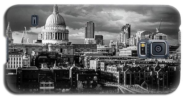 Milennium Bridge And St. Pauls, London Galaxy S5 Case