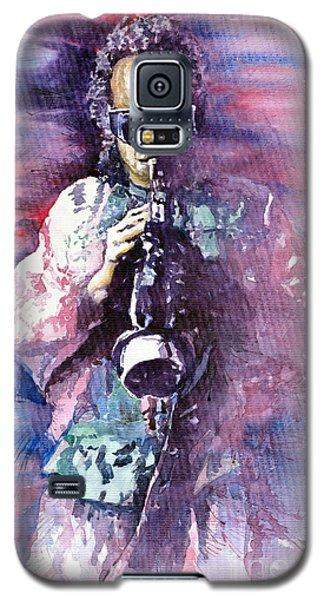 Portret Galaxy S5 Case - Miles Davis Meditation 2 by Yuriy Shevchuk