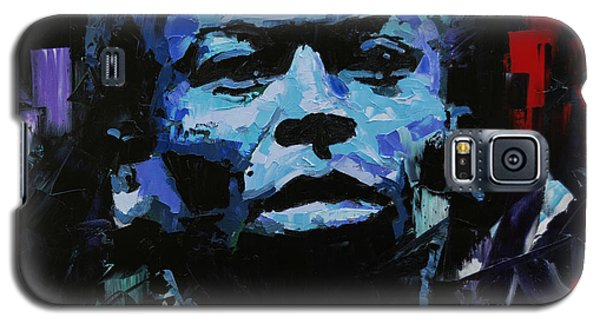 Galaxy S5 Case featuring the painting Miles Davis by Richard Day