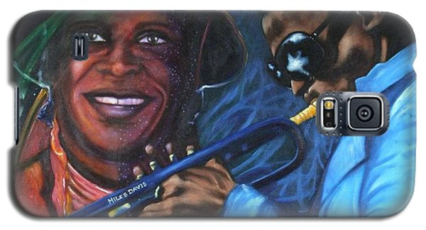 Blaa Kattproduksjoner            Miles Davis - Smiling Galaxy S5 Case