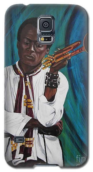 Miles-in A Really Cool White Shirt Galaxy S5 Case by Sigrid Tune