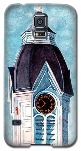Milford Clock Tower Galaxy S5 Case by Janine Riley