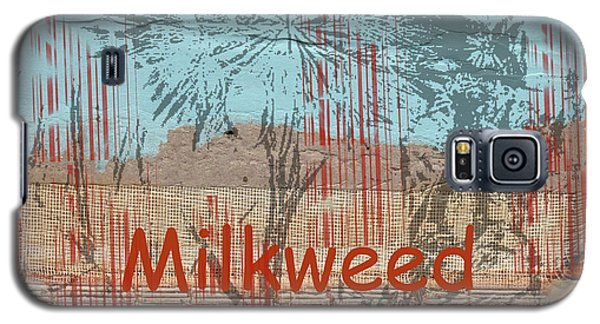 Milkweed Collage Galaxy S5 Case by Cynthia Powell