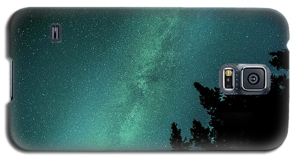 Milky Way Above The Trees Galaxy S5 Case