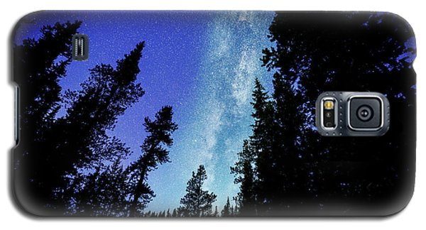 Milky Way Among The Trees Galaxy S5 Case