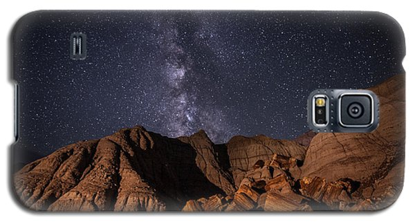 Milky Way And Petrified Logs Galaxy S5 Case