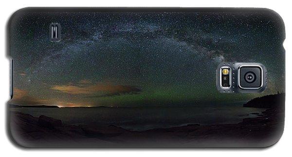 Milky Way Arch Galaxy S5 Case