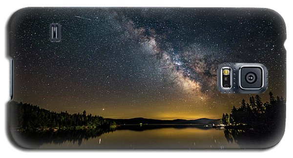 Milky Way At Hunter Cover Galaxy S5 Case