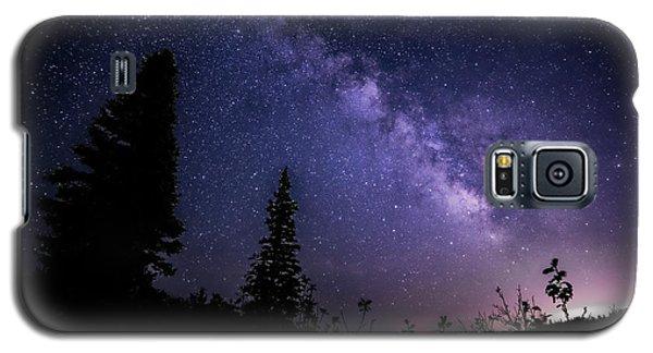 Milky Way At Powder Mountain Galaxy S5 Case