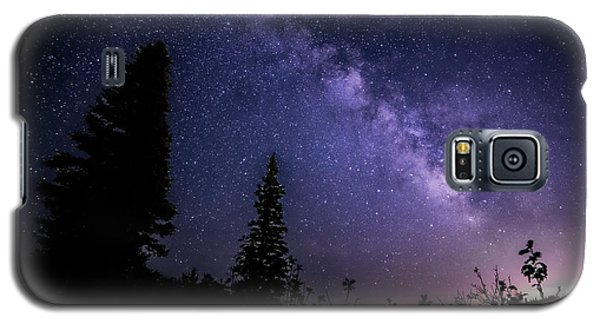 Milky Way At Powder Mountain Galaxy S5 Case