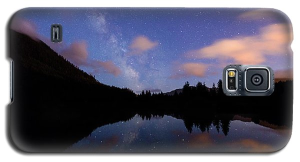 Milky Way At Snoqualmie Pass Galaxy S5 Case