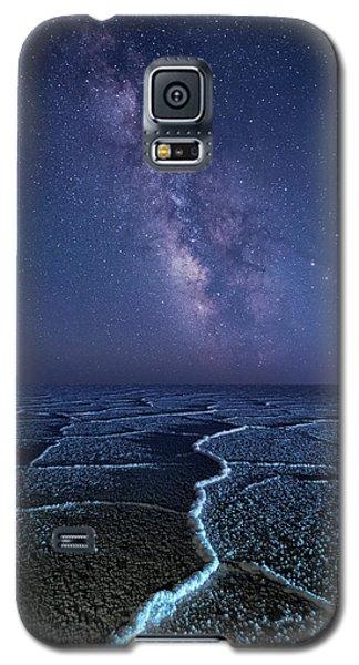 Milky Way At The Salt Flats Galaxy S5 Case