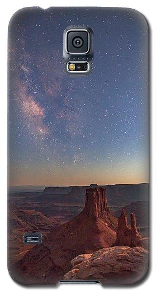 Milky Way At Twilight - Marlboro Point Galaxy S5 Case