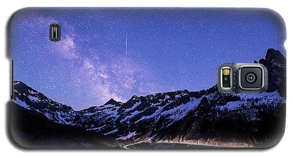 Milky Way At Washington Pass Galaxy S5 Case