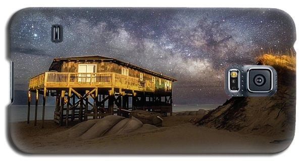 Milky Way Beach House Galaxy S5 Case
