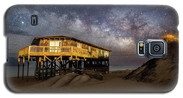 Milky Way Beach House Galaxy S5 Case