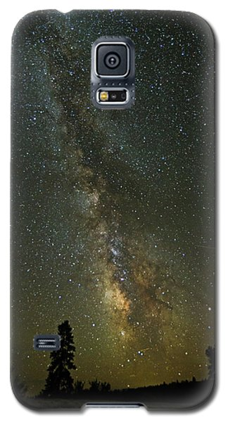 Galaxy S5 Case featuring the photograph Milky Way From Central Oregon by Angie Vogel