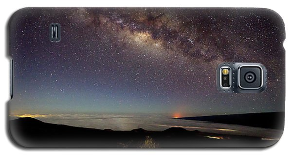 Milky Way From Mauna Kea Galaxy S5 Case