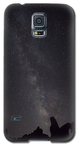 Milky Way Galaxy At Arches National Park Galaxy S5 Case