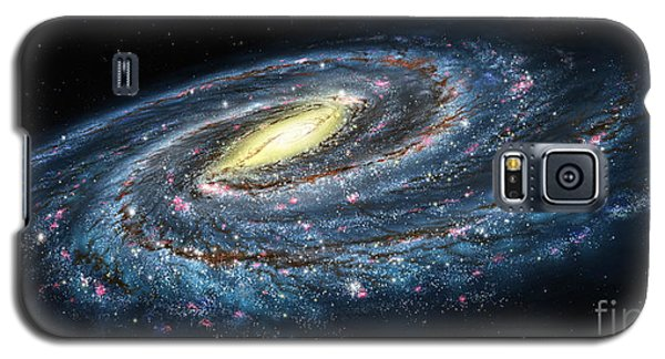 Milky Way Galaxy Oblique Galaxy S5 Case