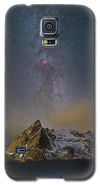 Milky Way In Lofoten Galaxy S5 Case