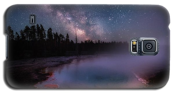 Milky Way In Yellowstone Galaxy S5 Case