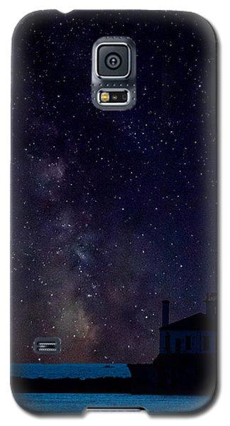 Milky Way Lighthouse Galaxy S5 Case