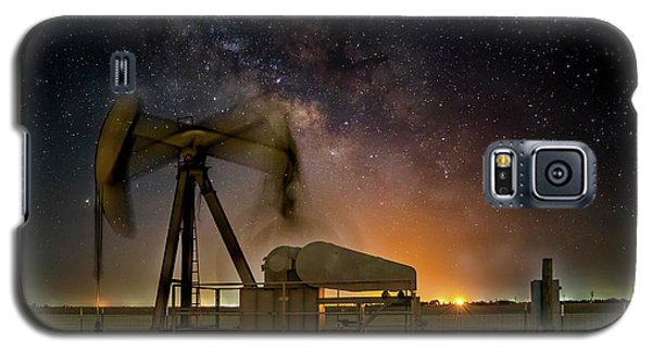 Milky Way Motion Galaxy S5 Case