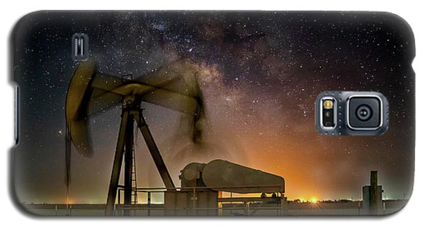 Milky Way Motion Galaxy S5 Case