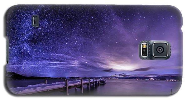 Milky Way Mountains Galaxy S5 Case