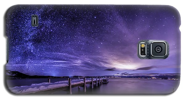 Milky Way Mountains Galaxy S5 Case
