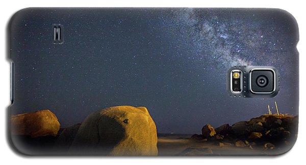 Milky Way On The Beach Galaxy S5 Case